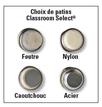 Chaises de style contemporain Classroom Select® avec pieds - (Votre choix) - Couleur du siège - (Votre choix) Couleur de l'armature (Assortie) - H 30,5 cm Images supplémentaires 2