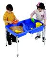 Table de sable et d'eau Neptune Children's Factory - Table avec couvercle de (61 cm de hauteur)