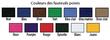 Fauteuil poire à dossier haut - Format jumbo (diamètre de 3,07 m) Images supplémentaires 1