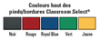Table pour activités Classroom Select® Appolo® avec bordure moulée en T - 61 cm x 91 cm (Rectangle) Images supplémentaires 2