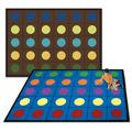 Tapis à plusieurs points Lots of Dots™ de Joy Carpets - Rectangle - 162,56 x 233,68 cm (5 pi, 4 po x 7 pi, 8 po) - Couleur À SPÉCIFIER
