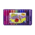 Crayons de cire gel parfumés Mr. Sketch® - Assortiment - Famille de 12
