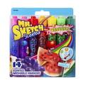 Marqueurs lavables parfumés Mr.Sketch®, couleurs et parfums variés, pointe biseautée, ens.-14