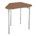 Pupitre Contemporary Collaboration® Classroom Select® - Octogone 53,3 cm x 40,6 cm x 76,2 cm 4 pieds Hauteur fixe de 76,2 cm - Plateau stratifié