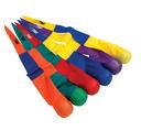 Ballons en mousse Sportime®, en queue de pêne, L 91,5 cm, couleurs assorties, ens.-6