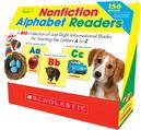 Livres de lecture non romanesques sur l'alphabet - Ensemble de 26