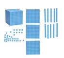 Ensemble base 10 magnétique géant Learning Resources® - 131 pièces