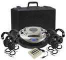 Centres d'écoute Califone® Spirit™ SD - Centre d'écoute pour 6 personnes - Numéro de modèle 1886PLC-