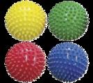 Balles sensorielles souples - Balles sensorielles de 10,2 cm. (ens.-4)