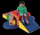 Module à grimper souple avec tunnel The Children's Factory®