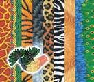 Papier à motifs de peau d'animaux pour artisanat –  40 Feuilles