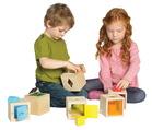 Ensemble de boîtes à formes Cache-cache - Ensemble de 13