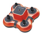 Casques et centres d'écoute Califone® Listening First™ - Boîte à jacks rouge - 1114-rd