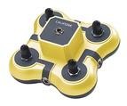 Casques et centres d'écoute Califone® Listening First™ - Boîte à jacks jaune - 1114-yL