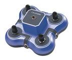Casques et centres d'écoute Califone® Listening First™ - Boîte à jacks bleue - 1114-BL