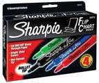 Marqueurs Sharpie® Flip Chart™ - Ens. 4 couleurs