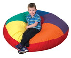 Coussin rond arc-en-ciel The Children's Factory®