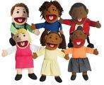 Marionnettes multiethniques de 38 cm