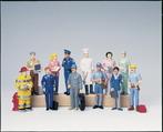Figurine de travailleurs - ens. de 12