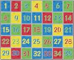 Tapis numérique Flagship Carpets - 3,28 x 4,01 m - Rectangulaire
