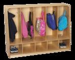 Vestiaire à 5 casiers Korners for Kids® pour tout-petits