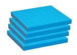Ensemble base 10 de groupe School Smart - Planchette 1 x 10 x 10 cm, (Ens. de 10)