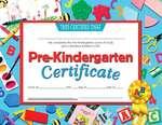 Certificats et récompenses Hayes®, compatibles avec une imprimante - Pre-Kindergarten Certificate (Certificat de prématernelle)