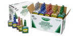 Colle à paillettes lavables à couleurs éclatantes Crayola® Classpack® - Paquet de 20