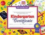 Certificats et récompenses Hayes®, compatibles avec une imprimante - Kindergarten Certificate (Certificat de maternelle)