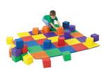 Ensemble de blocs pour Tapis en patchwork et blocs The Children's Factory® - ens.-12