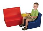 Ensemble de meubles profilés pour tout-petits The Children's Factory® - Ensemble de 3 pièces