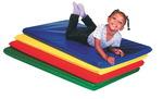 Matelas de repos The Children's Factory®, couleurs primaires et bois - Couleur (PRÉCISER)