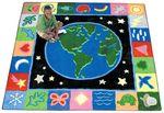 Tapis Earthworks™ Joy Carpets - 3,28 x 4,01 m Rectangulaire