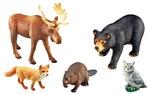 Ensembles d'animaux géants pour les enfants d'âge préscolaire – Animaux de la forêt ens.-5