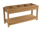Table d'activités scientifiques Childcraft® pour l'extérieur avec bacs en bois, l 126,4cm x P 43,2cm x H 61cm