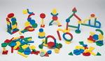 Jeu de construction Childcraft® à double rainure - ens. de 150 pièces avec bac de rangement