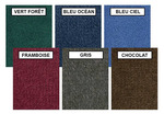 Tapis unis Mont Shasta Carpets for Kids® - 2,54 x 3,66 m Rectangulaire - Couleur (Votre choix)