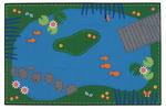 Tapis Étang paisible Carpets for Kids® KID$ Value Rugs™, 91,4 cm x 1,37 m (36 x 54 po), fibre de nylon