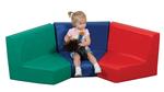 Ensemble de sièges modulés The Children's Factory® - Ensemble de 3 modules