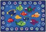 Tapis Aquarium éducatif - 1,2 m x 1,7 m (Rectangulaire)