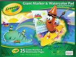 Bloc géant pour marqueurs ou aquarelle Crayola®