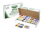 Crayon Crayola® et marqueur lavable Classpack® - Crayons de taille régulière - Famille de 256