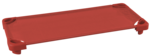 Lits de camp empilables de diverses couleurs ECR4Kids® pour enfants - L 1,32 m x l 58,4 cm x H 12,7 cm - Assemblés (Un de chaque couleur : vert, rouge, jaune, bleu, sable) pqt-5