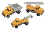Ensemble de camions robustes - Ensemble de 3