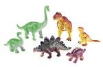 Ensembles d'animaux mamans et bébés - Dinosaures - Ensemble de 6
