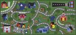 Tapis Boom Town™ par Joy Carpets - 91,4 x 182,88 cm (3 x 6 pi, 6 po)
