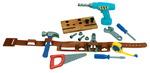 Jeu d'outils et ceinture de travail Pretend & Play® - Ensemble de 20