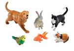Ensembles d'animaux géants pour les tout-petits – Animaux domestiques ens.-6