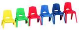 Chaises empilables Prima Royal Seating® - 30,5 cm - Couleur (Votre choix)