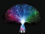 Lampe à fibres optiques, base lumineuse de couleur changeante
